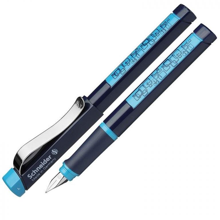 Tintes pildspalva SCHNEIDER BASE L tumši zils/gaiši zils korpuss, kreiļiem - 200-06278  10.50