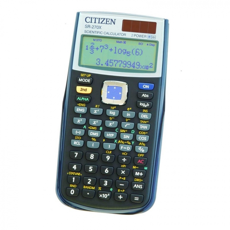 Kalkulators CITIZEN SR 270X...
