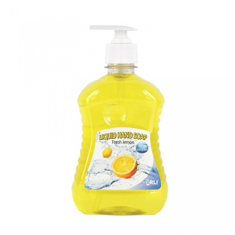 Šķidrās ziepes ARLI CLEAN Fresh Lemon, 500 ml