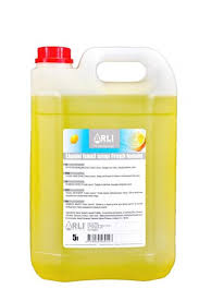 Šķidrās ziepes ARLI CLEAN Fresh lemon, 5 l