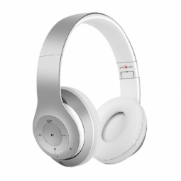 Bluetooth stereo headphones with built-in microp...