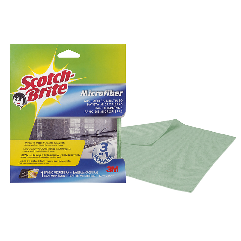 • Scotch-Brite W810 MULTI-USAGE mikrošķiedras ...