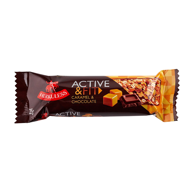 "• Musli batoniņi ""Active & Fit"" ar šok..."